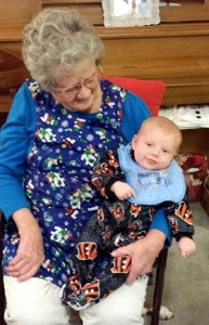 Isaiah and Great-Grandma Lil