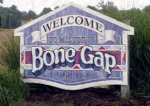 Not to pick on Bone Gap--I just like their sign. Click here to see this town's history.