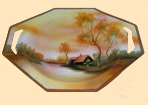 This resembles the kind of bowl I imagined for the subject of the poem.