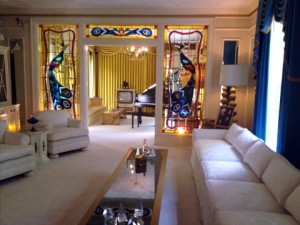 The most tasteful room at Graceland. Really.