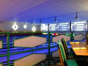 The view from our table. It definitely had a Big Lebowski vibe, which didn't hurt, either.