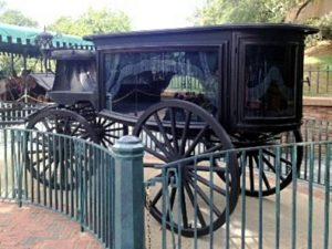 I really thought they'd need this to drive me back to the hotel. (from the Haunted Mansion)